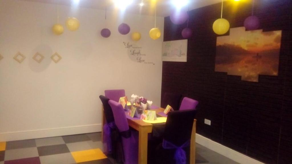 A restaurant or other place to eat at Carer 4 You Residential Home