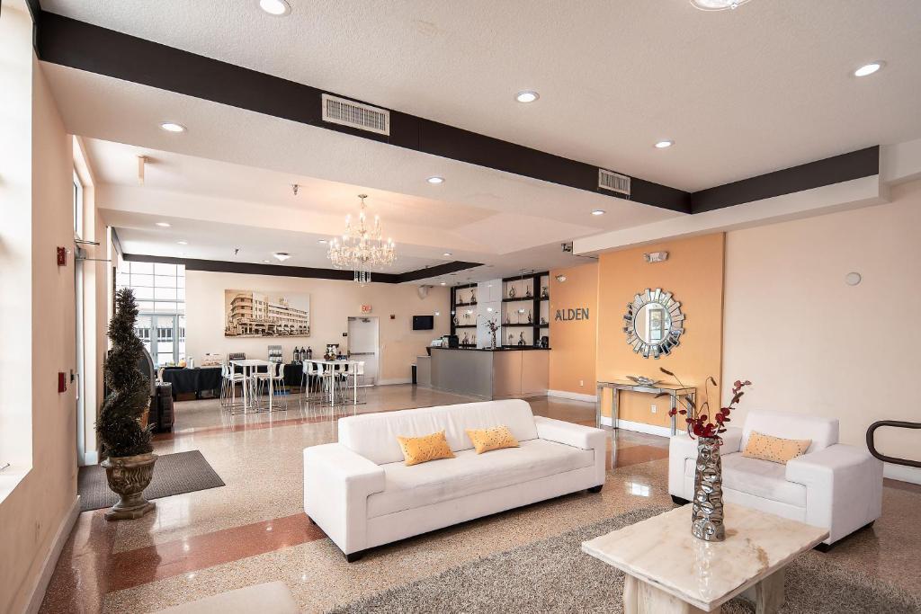 Hall ou réception de l'établissement Alden Hotel Miami Beach