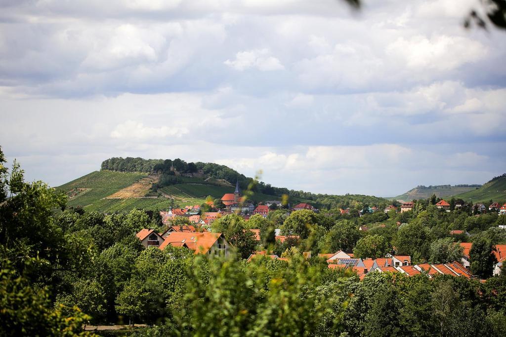 Blick auf Hotel und Gutsgaststätte Rappenhof aus der Vogelperspektive