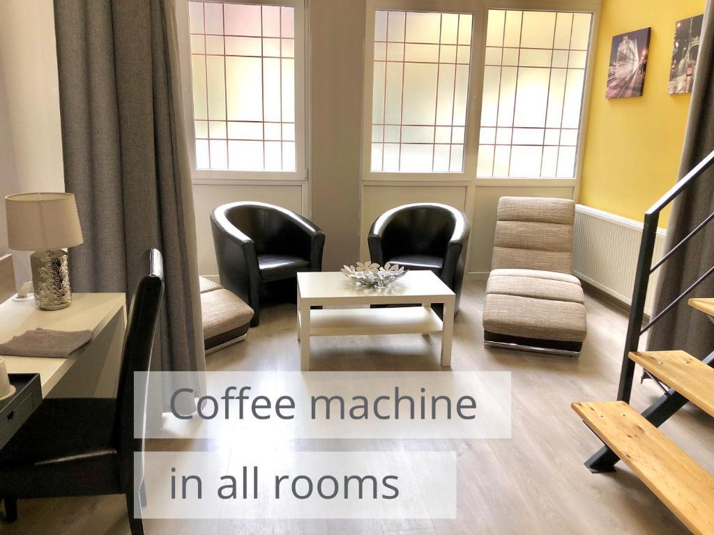 Area soggiorno di Sissy Residence