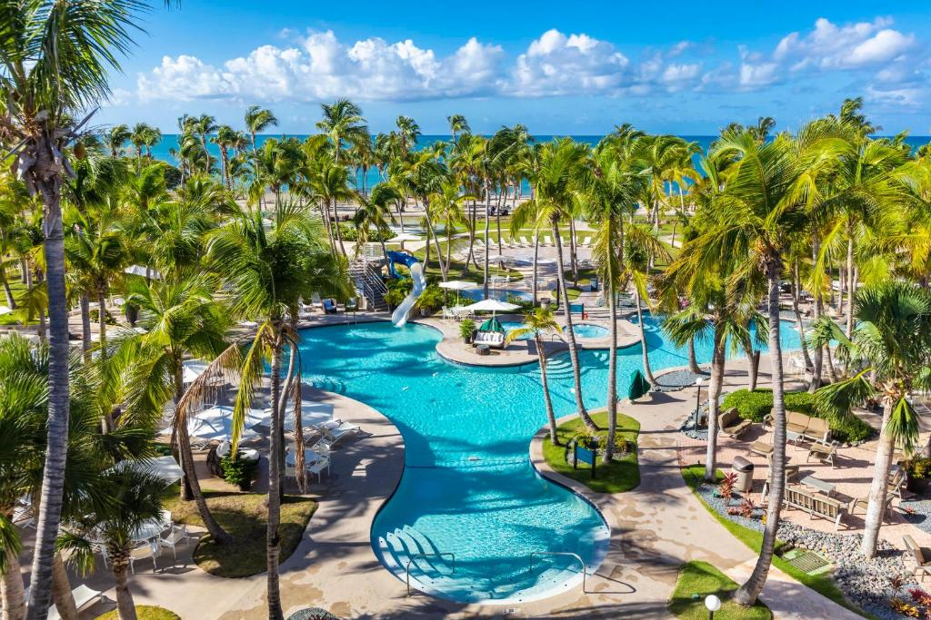 A view of the pool at Hilton Ponce Golf & Casino Resort or nearby