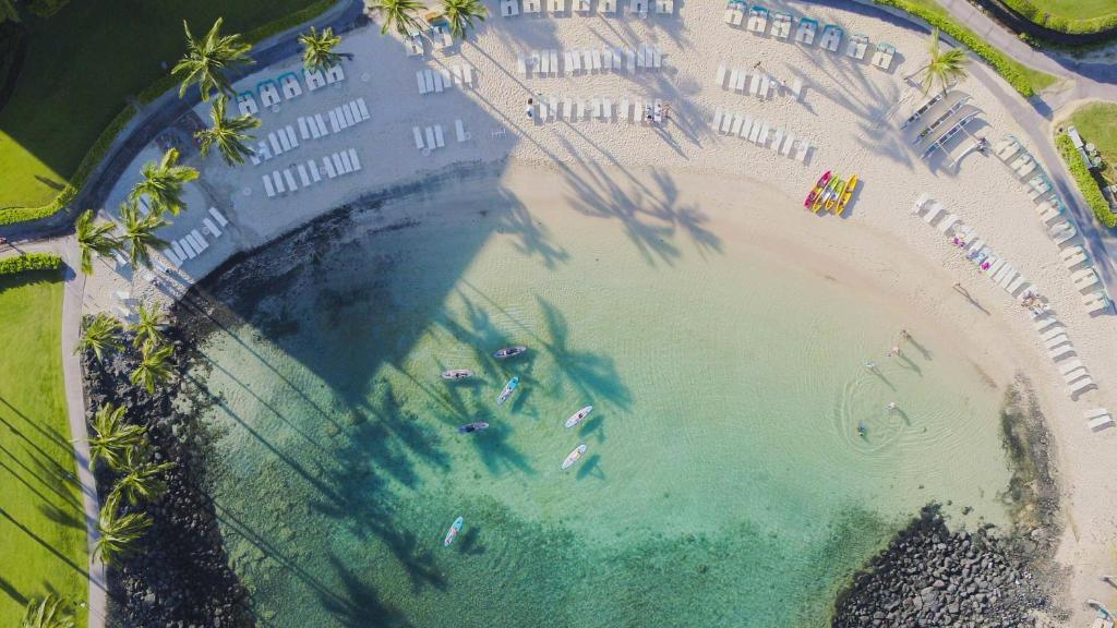 A bird's-eye view of Fairmont Orchid Gold Experience