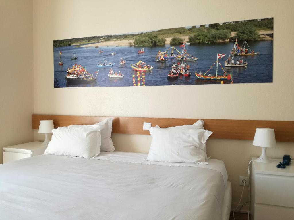 Un ou plusieurs lits dans un hébergement de l'établissement Casa Joao Chagas Guesthouse