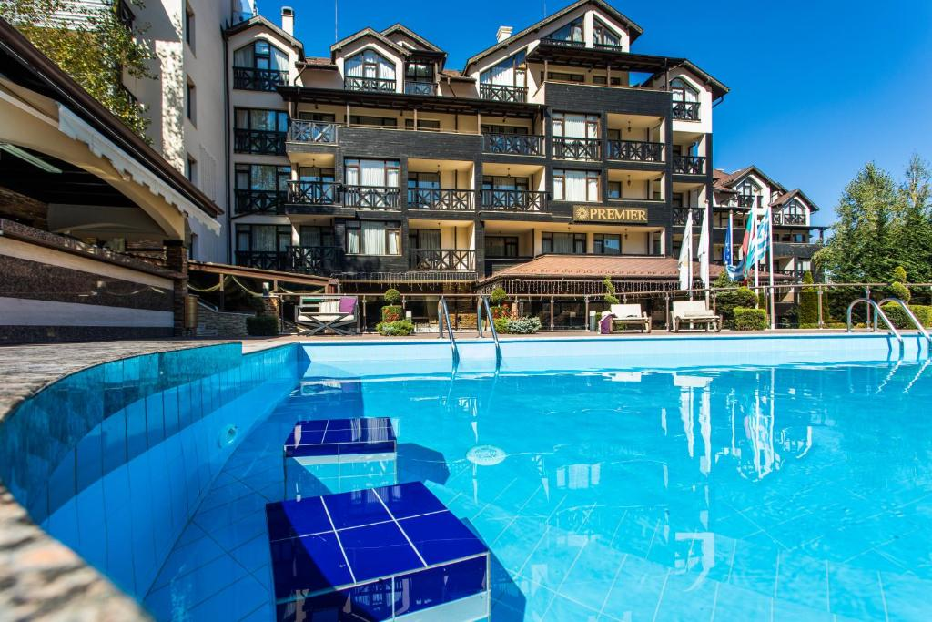 The swimming pool at or near Premier Luxury Mountain Resort