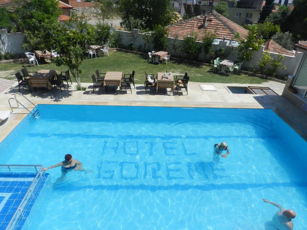 Vista de la piscina de Hotel Goreme o alrededores
