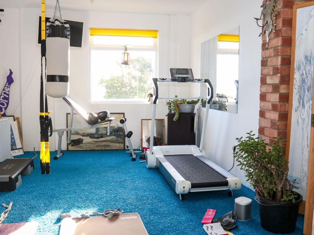 The fitness centre and/or fitness facilities at Cooden Beach House, Bexhill-on-Sea