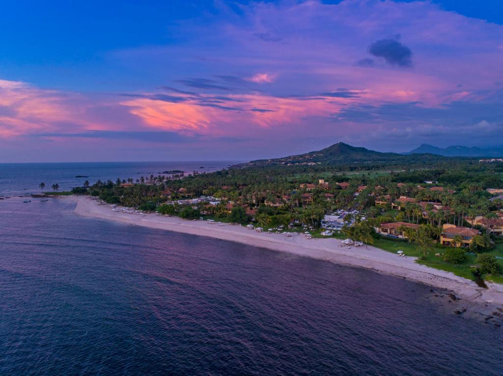 A bird's-eye view of The St. Regis Punta Mita Resort