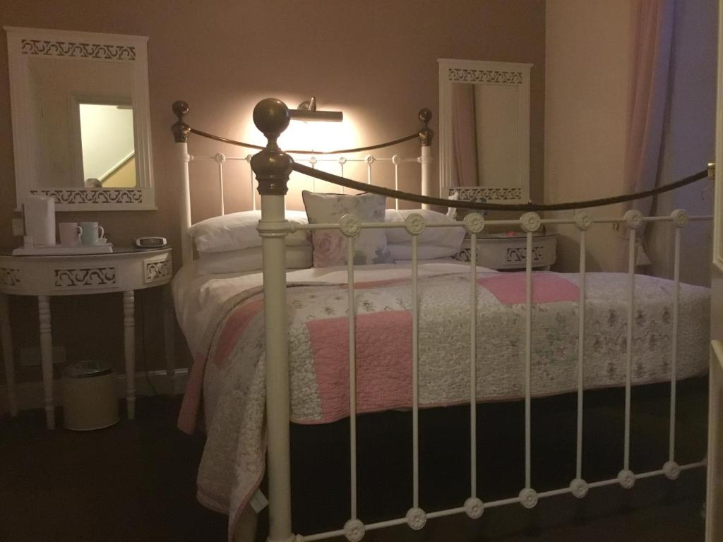 A bed or beds in a room at Seaham