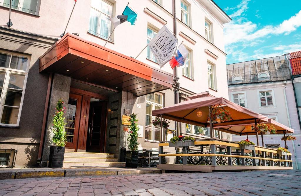 St Petersbourg Hotel Small Luxury Hotels Of The World Tallinna