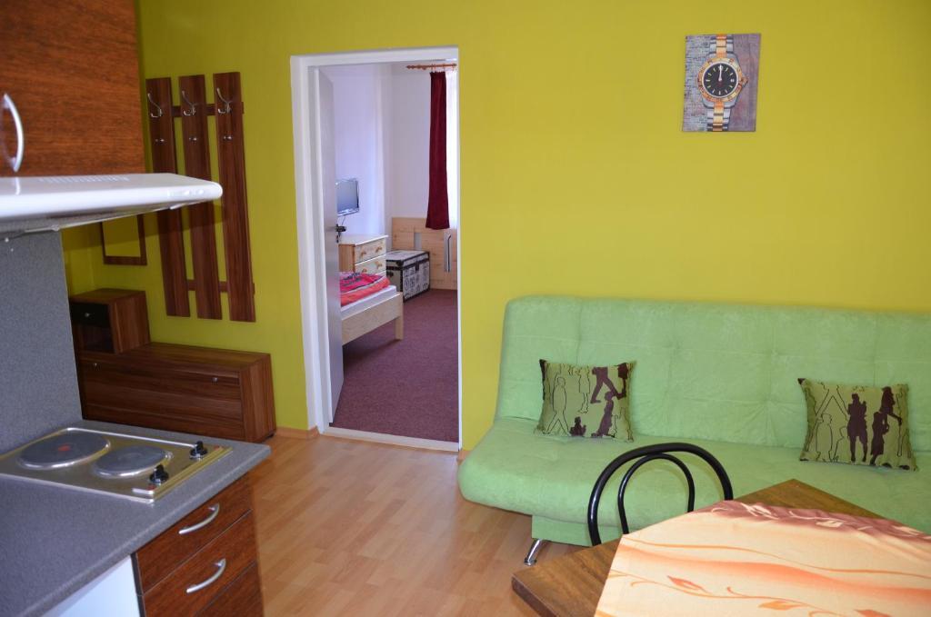 Posezení v ubytování Apartmány Nikola