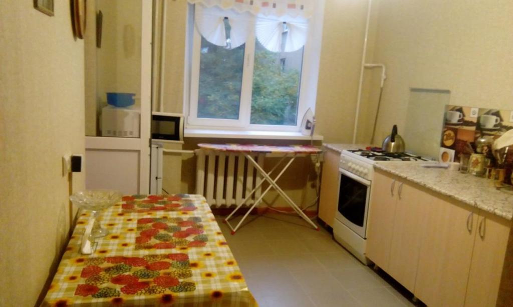 A kitchen or kitchenette at Любимый Кисловодск