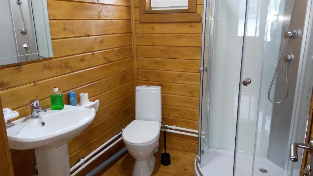 Ванная комната в Гостевой дом Белые Росы