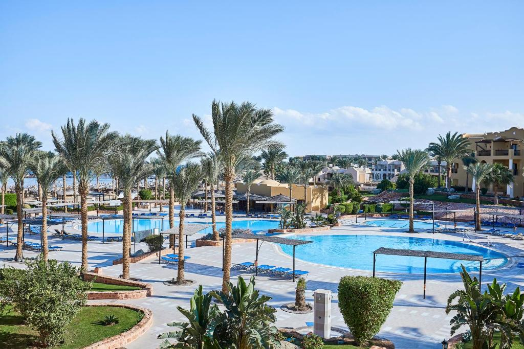 A view of the pool at Jaz Solaya or nearby