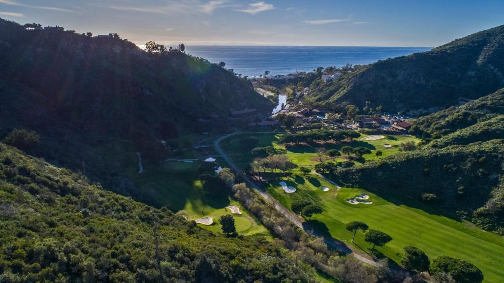 A bird's-eye view of The Ranch at Laguna Beach