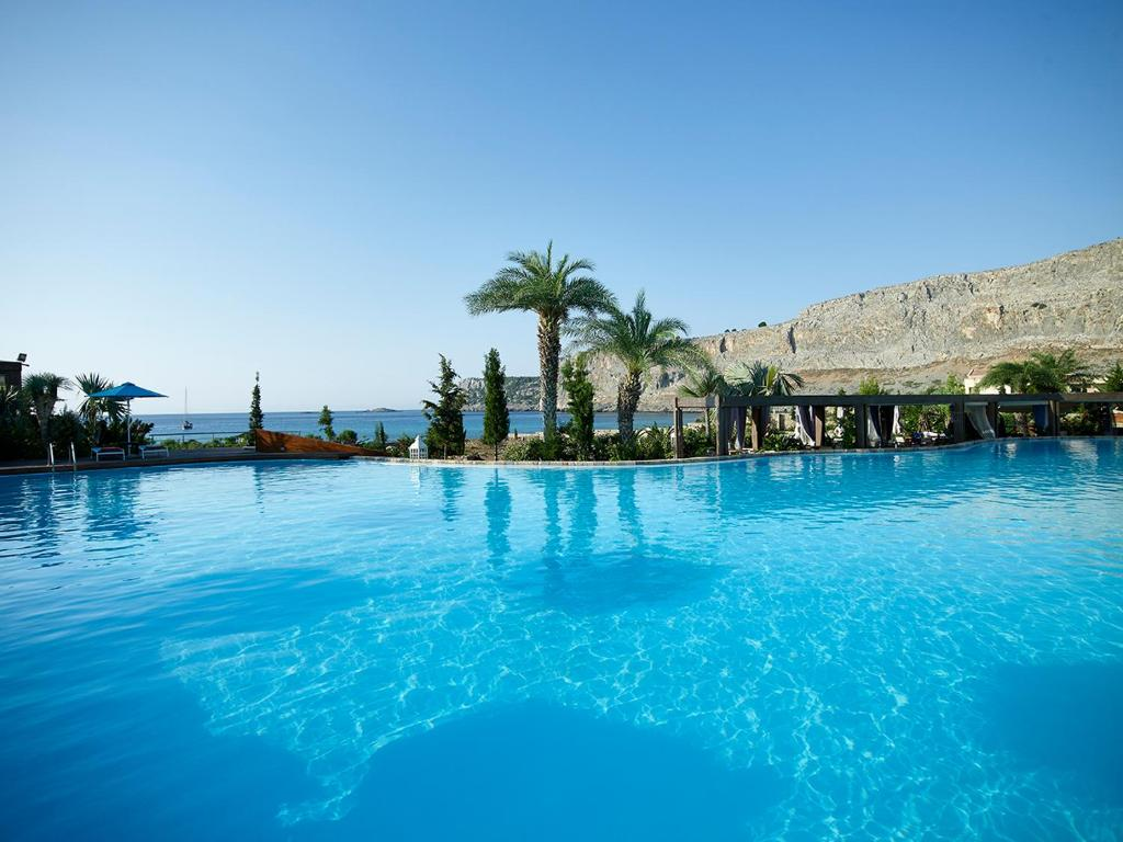 The swimming pool at or near Aquagrand of Lindos, Exclusive Deluxe Resort & Spa-Adult only