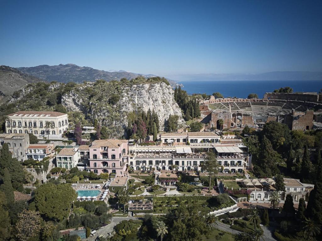 Vista aerea di Belmond Grand Hotel Timeo