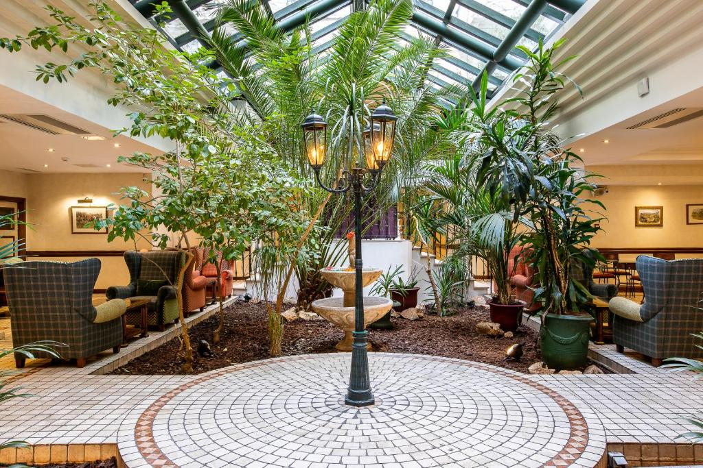 The lobby or reception area at Villa Beaumarchais