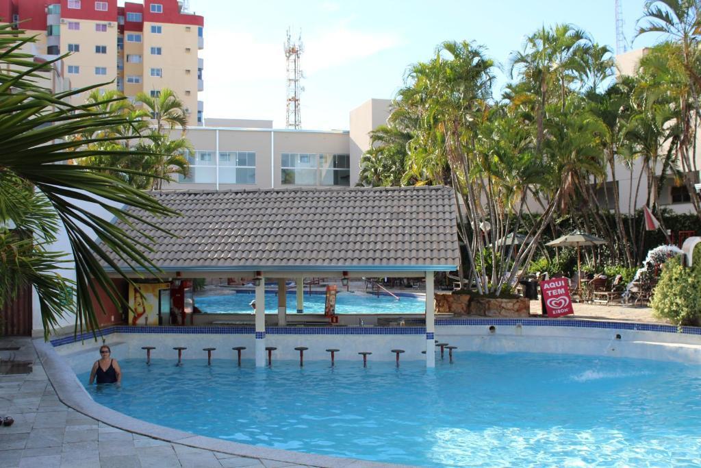 The swimming pool at or near Hotel Itatiaia das Thermas