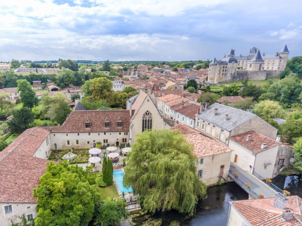 A bird's-eye view of Le Couvent des Cordeliers