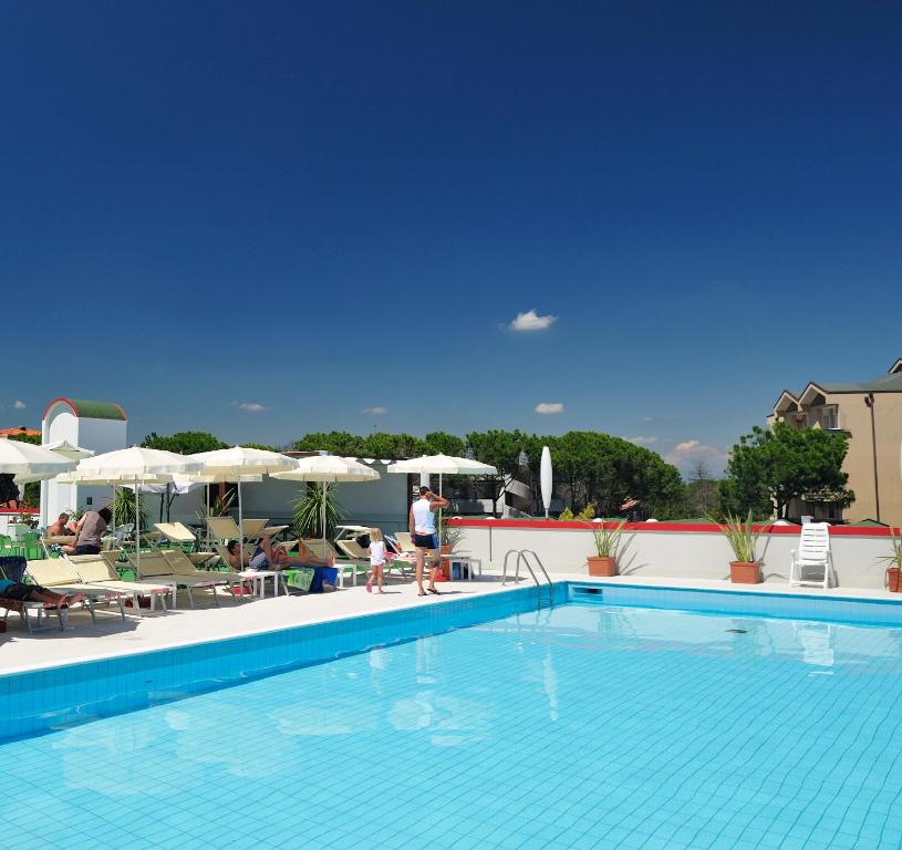 The swimming pool at or near Hotel Jasminum