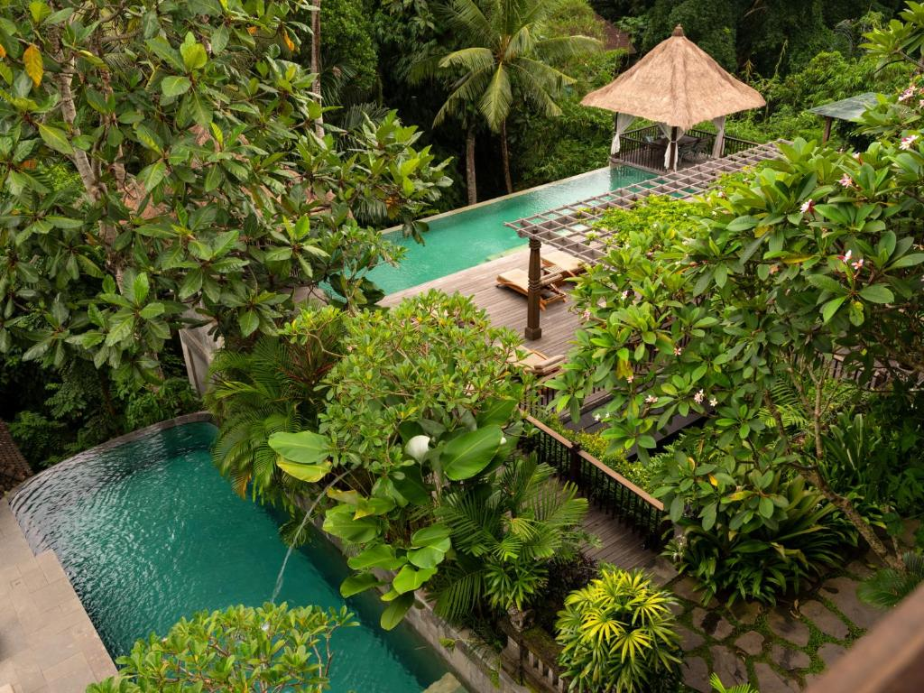 Vista de la piscina de Adiwana Resort Jembawan o alrededores