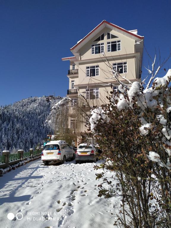 Sai Cottage Shimla during the winter