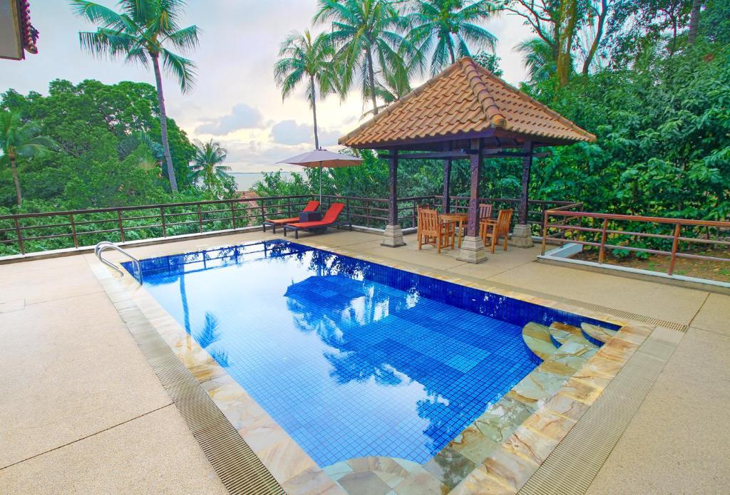 The swimming pool at or near Indra Maya Pool Villas