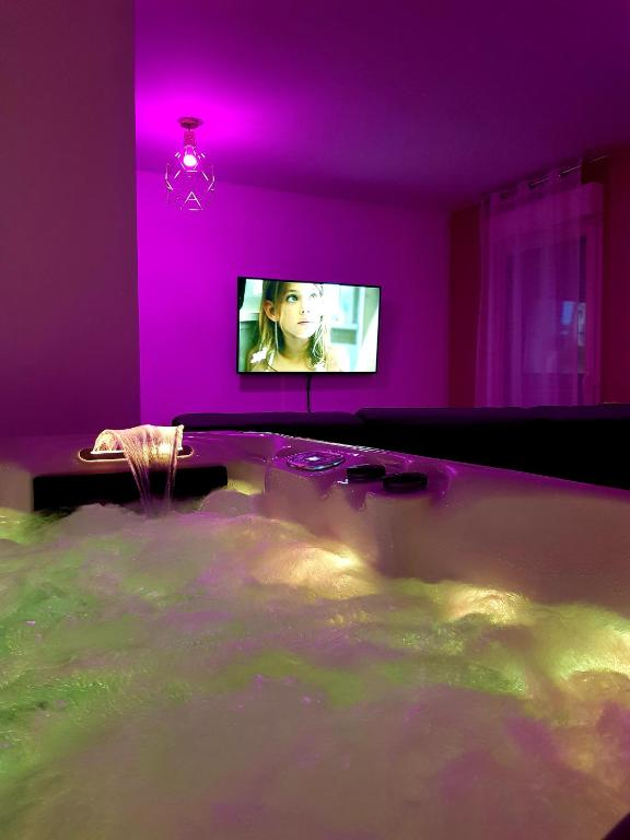 Apartment La Somptueuse 100m2 Spa Sauna Prive Nancy France