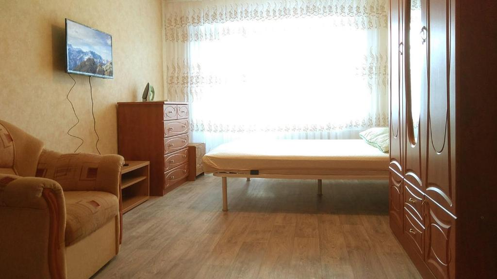 Гостиная зона в Apartment on Mira, 51