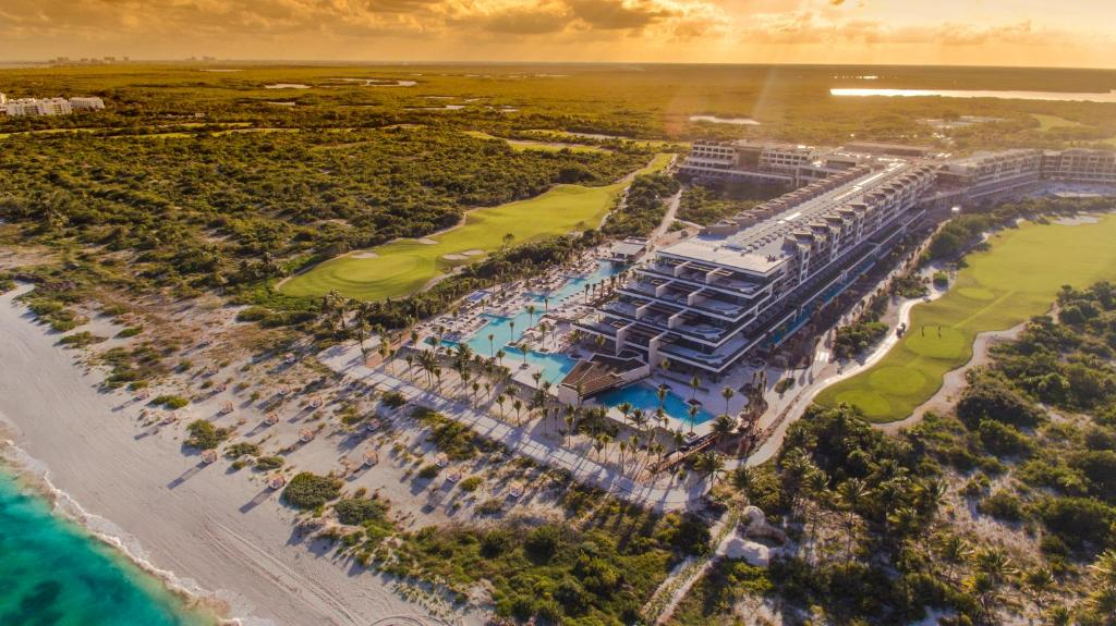 A bird's-eye view of Atelier Playa Mujeres-All Inclusive Resort