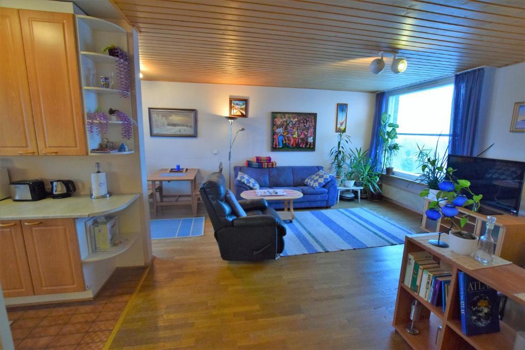 Oleskelutila majoituspaikassa Lankila Apartment