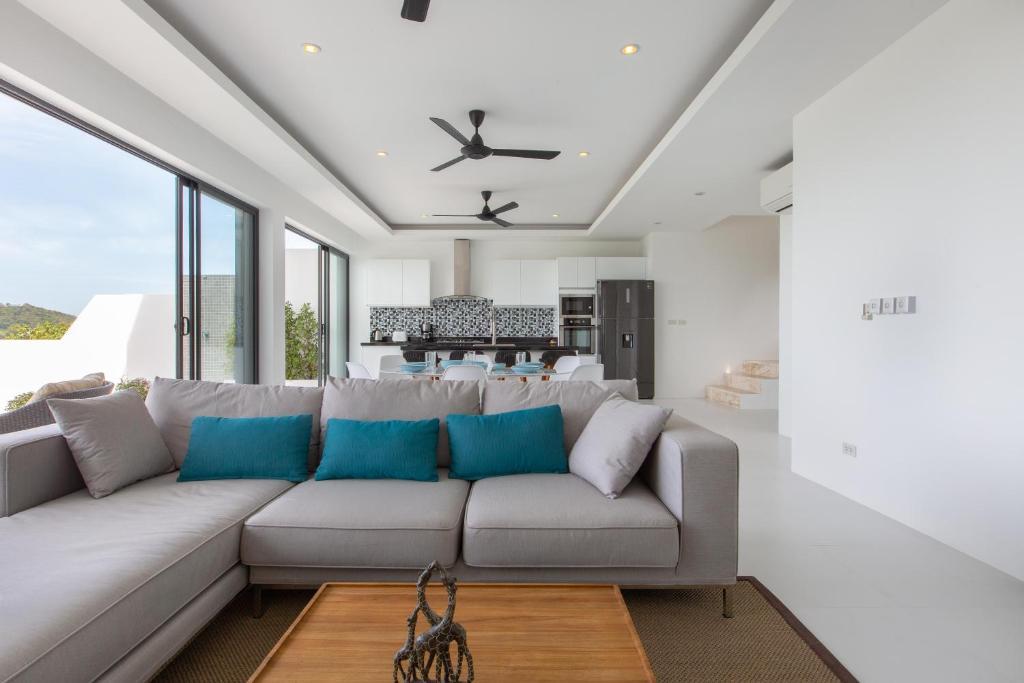 Lib Villa Luxury Seaview Infinity Pool 3 Bedroom Villa Koh