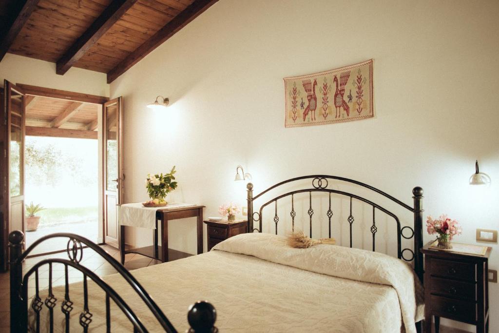 A bed or beds in a room at Su Leunaxiu