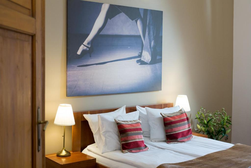 Cama o camas de una habitación en Tango House Bed & Breakfast