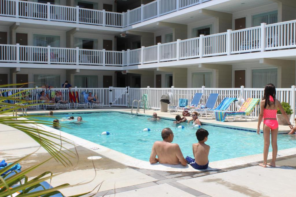 The swimming pool at or near Oceanus Motel - Rehoboth Beach