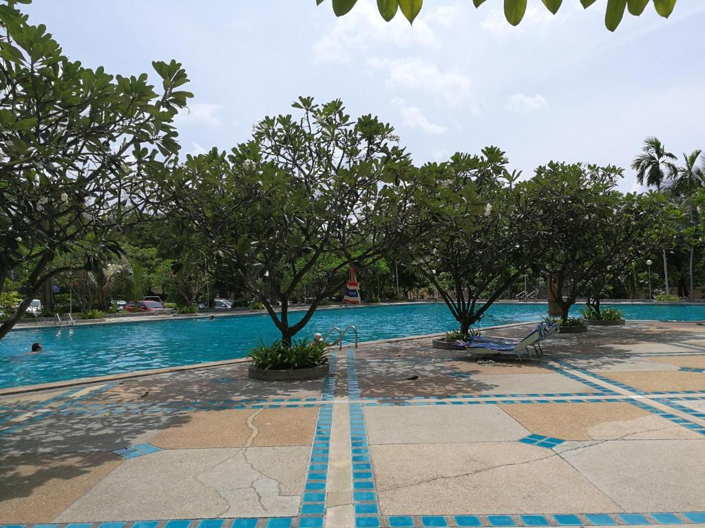 The swimming pool at or near VIEW TALAY 5c STUDIO, 8 ème étage
