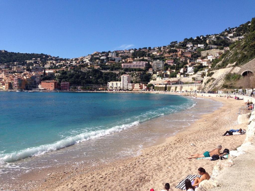 Image result for baie de marineres villafranche