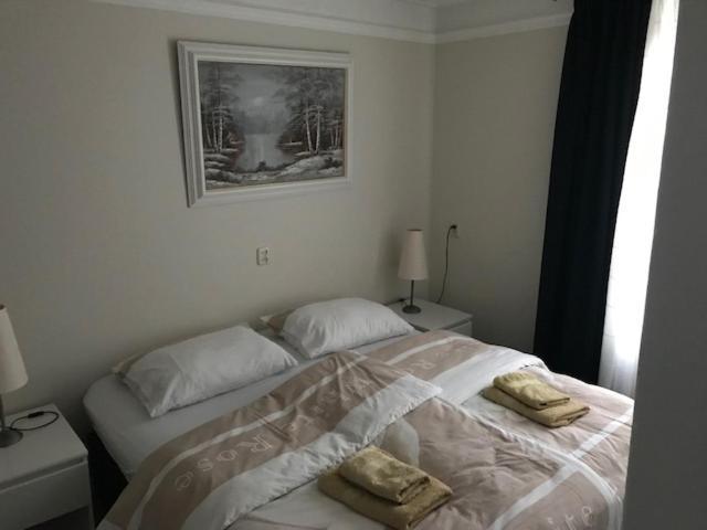Ένα ή περισσότερα κρεβάτια σε δωμάτιο στο B&B Under the Mill