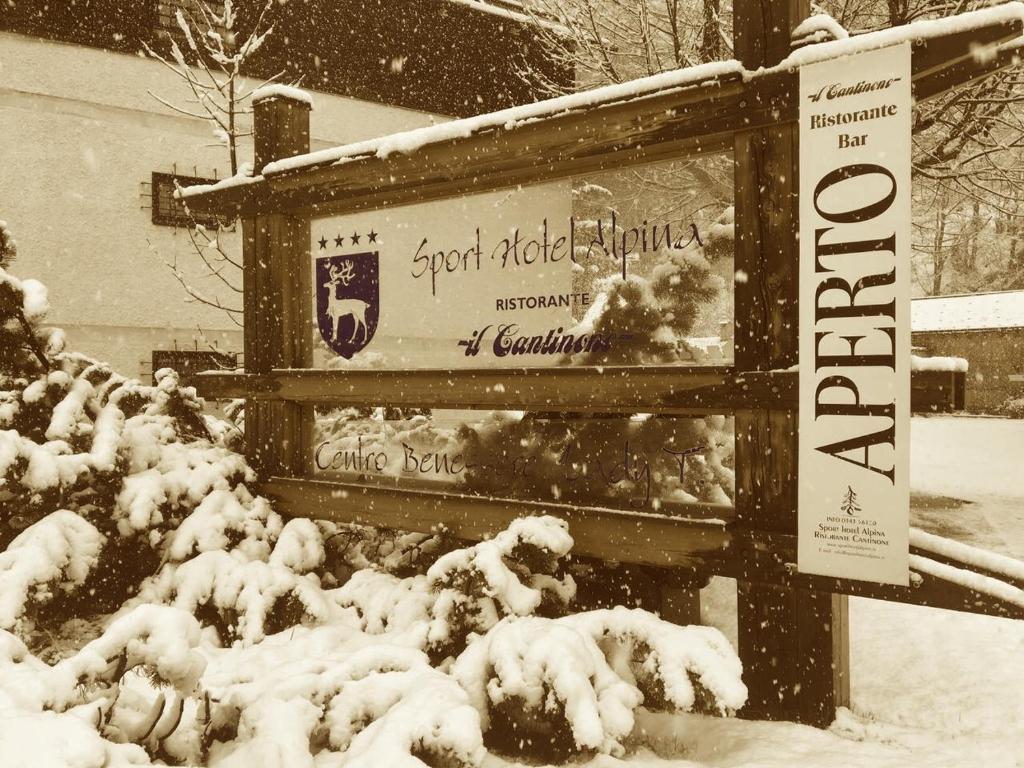 Sport Hotel Alpina im Winter
