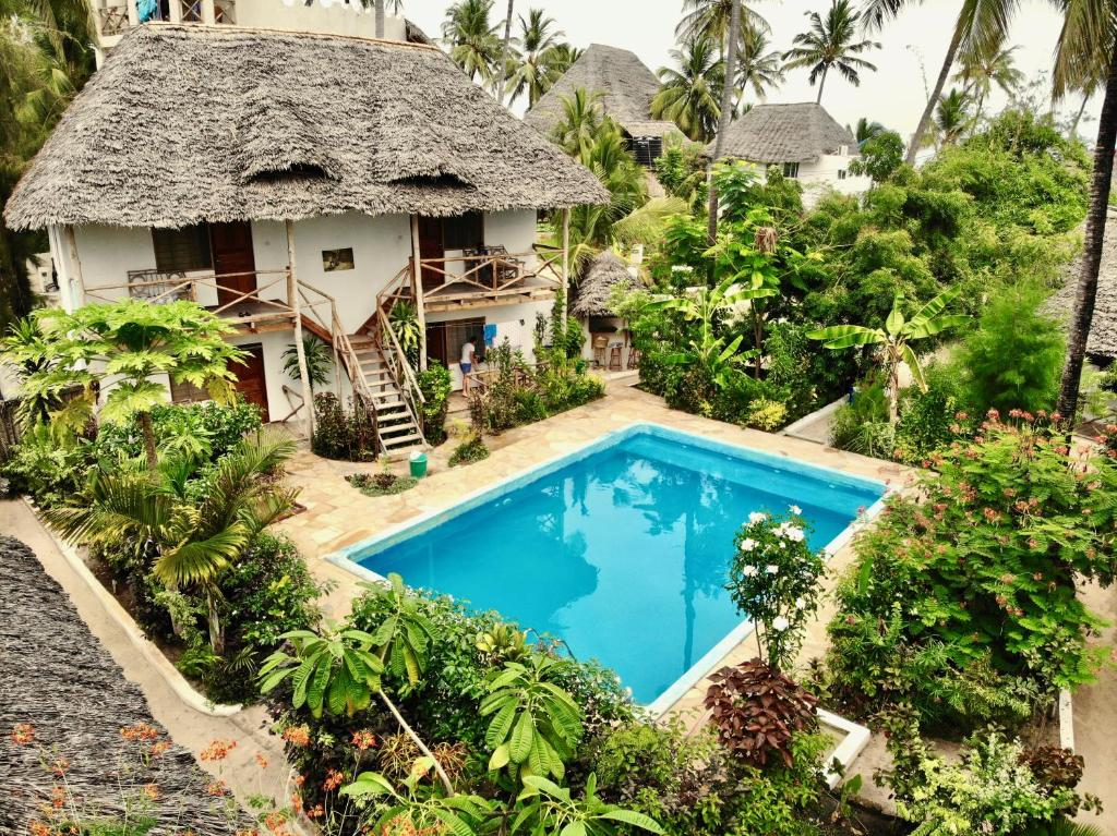 The swimming pool at or near Miramont Retreat Zanzibar