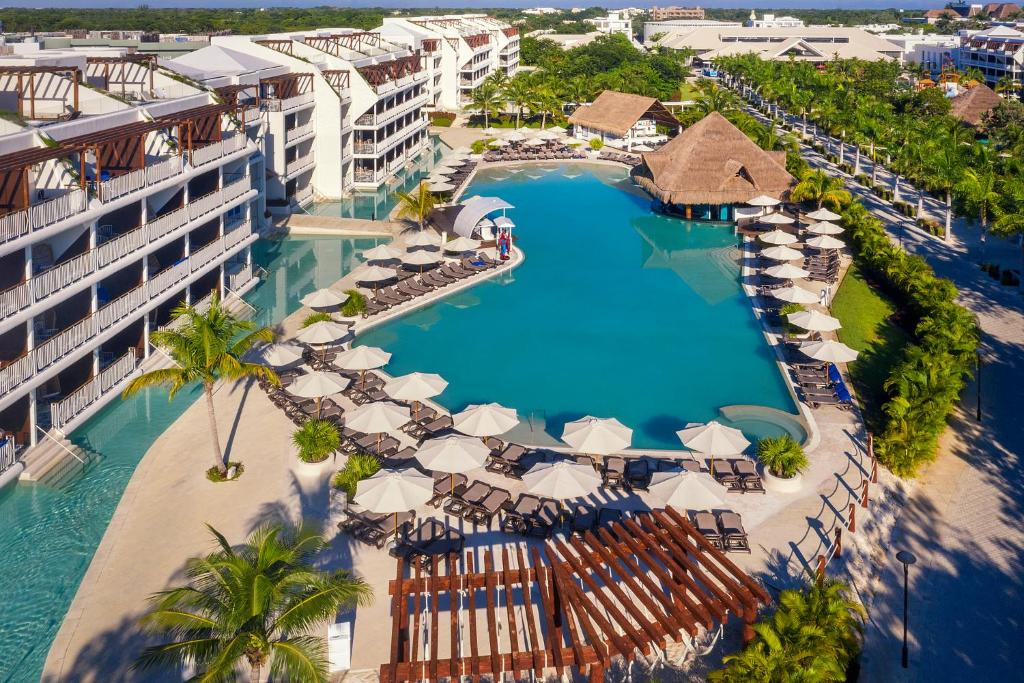 A view of the pool at Ocean Riviera Paradise El Beso - All Inclusive Adults Only or nearby