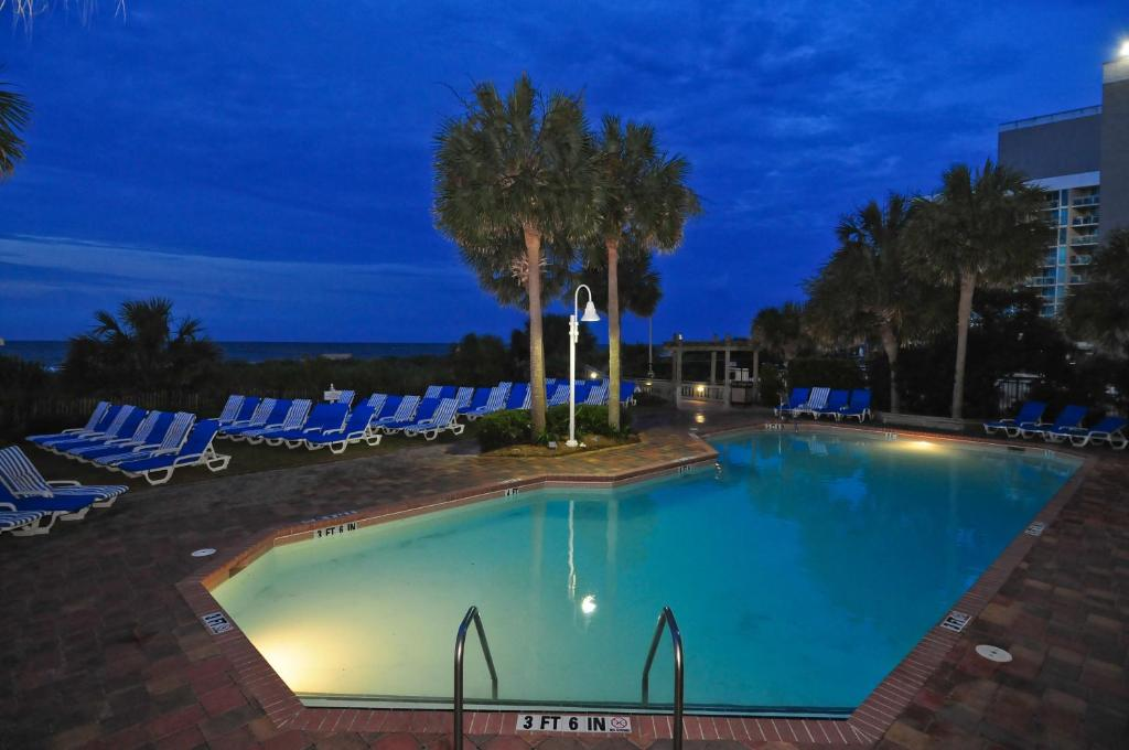 The swimming pool at or near Sea Crest Oceanfront Resort