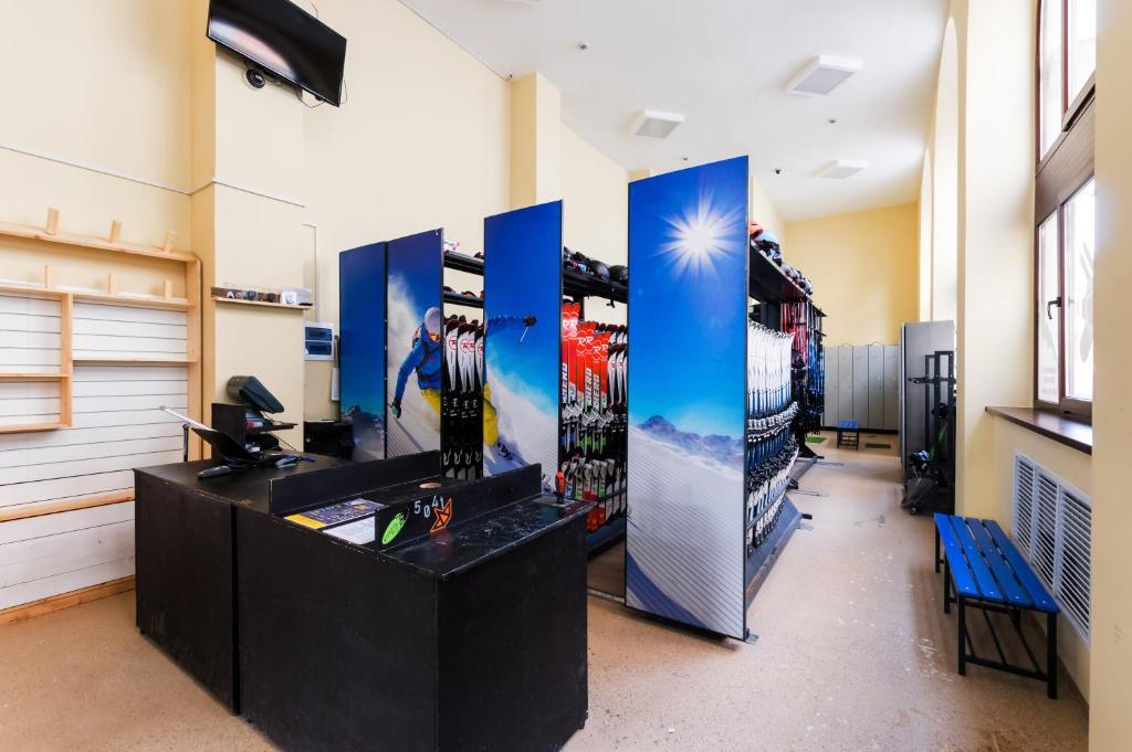Лобби или стойка регистрации в Отель Корпоративный Центр Сбербанка