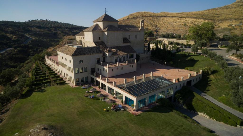 A bird's-eye view of Hotel Convento La Magdalena by Checkin
