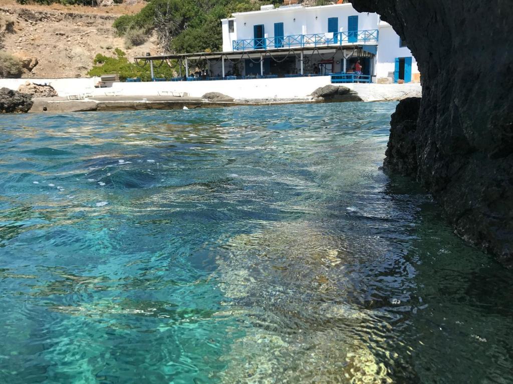 The swimming pool at or near Agia Fotia Taverna