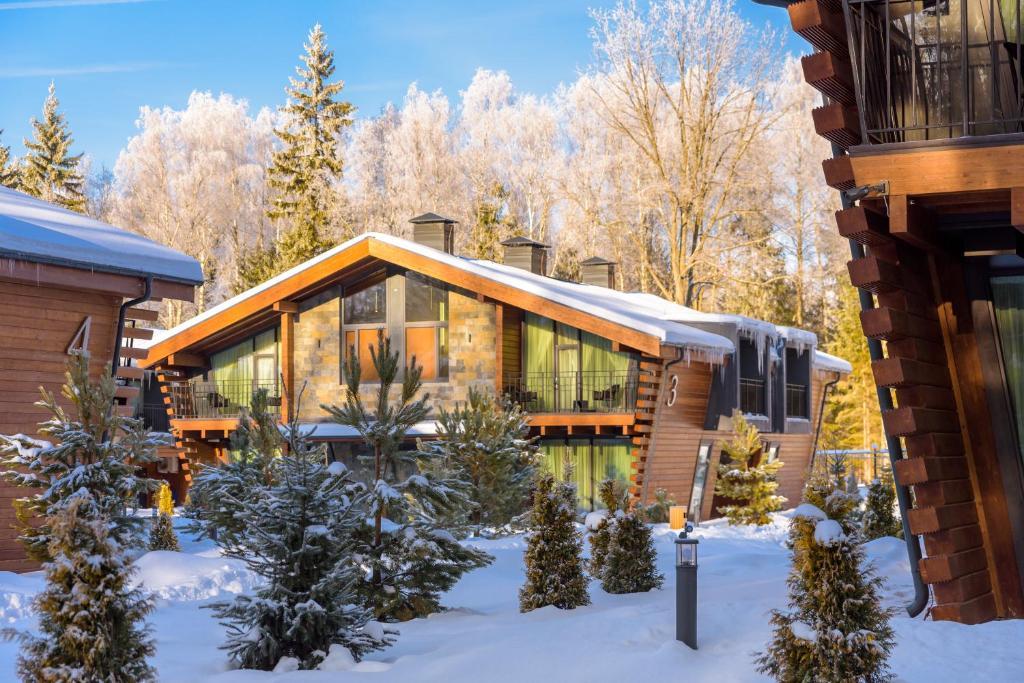 LES Art Resort during the winter