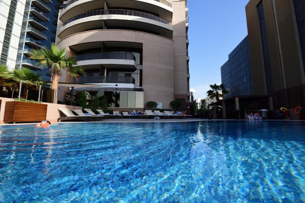 The swimming pool at or near Majestic City Retreat Hotel ( Formerly Majestic Hotel Tower)