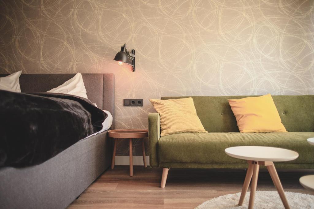 Posezení v ubytování Niteroom Boutiquehotel & Apartements