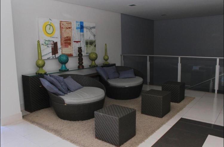 Spa and/or other wellness facilities at Apartamento Veredas do Rio Quente - 919
