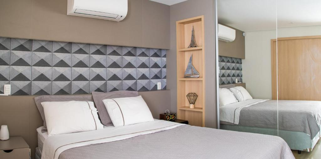 A bed or beds in a room at Your Studio at London SP Residences